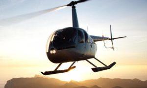 Helikopter im Urlaub