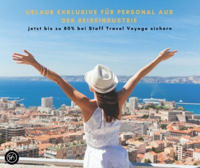 Beitragsbild zu Urlaub Exklusive für Personal aus der Reiseindustrie