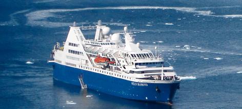 pepGuru, MS Ocean Diamond, Schiff