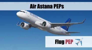 PEP, Expedient, Travelagent, Reisebüro, Flug, Air Astana