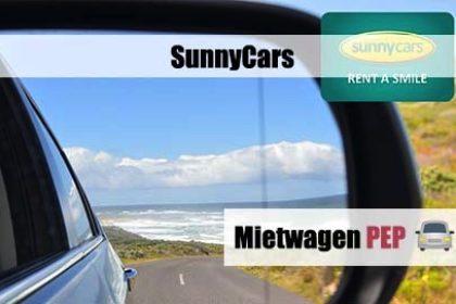 SunnyCars, PEP, Expi, Travelagent