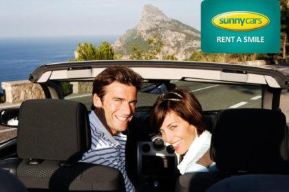SunnyCars, Mietwagen, Expedientenermäßigung