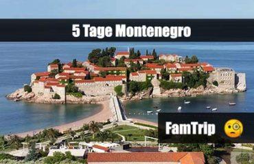 Montenegro, Famtrip, Expedienten, Infotour